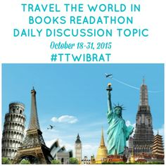 guiltless reading: Travel the World in Books Readathon Discussion Post (Day 7): Yum! Food, glorious food! #TTWIBRAT