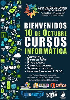 Asociación de Sordos del Estado Yaracuy: CURSOS INFORMATICA - 10, 17 y 24 de Octubre de 201...