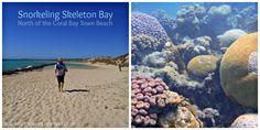 Skeleton Bay Snorkeling, Coral Bay, WA