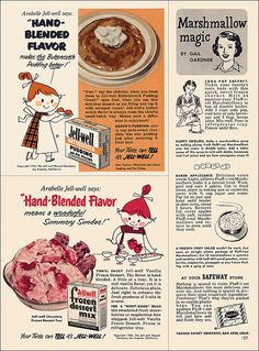 """RECIPE: Soda Pop Sherbet/Baked Applesauce/Frozen Fruit Salad/Queen's Pudding/A """"Berry-Good"""" Treat 