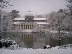 Palacio de Cristal, parque de El Retiro