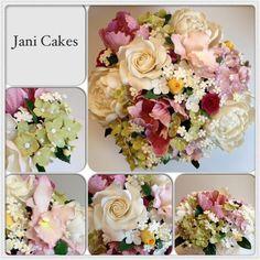 Sugar flower bouquet  - via @Craftsy