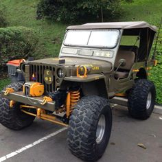 Some what modified MB Willys