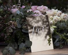 Gold Table Numbers. Mirror Acrylic Wedding Signs. Table