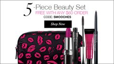 5-piece beauty set FREE with any $60 order. www.youravon.com/lalbrecht