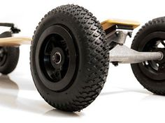 Up Close & Personal - All terrain Skateboard for your offroad skateboard fun!