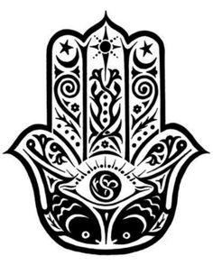 Mano de fatima tattoo idea