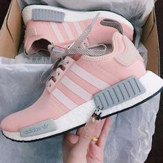 adidas honey hi w grau rosa