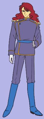 Name: Nephrite  He is the second general who took over Jadeite's mission after he died.