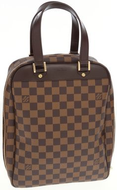 f91c20d74662 Louis Vuitton Damier Ebene Canvas Hawaiian Excursion 2005 SpecialEdition  Top Handle Luggage Bag. Louis Vuitton