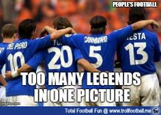 100% Legends  http://www.trollfootball.me/display.php?id=16273  #football #soccer #Trollfootball #soccermemes #Memes #100%Legends #Legends #Italy #ItalianFootball