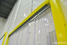 InsulWall from Randall Warehouse is the insulated warehouse curtain wall that creates temperature-controlled areas, conserves energy and maximizes space. Strip Curtains, Maximize Space, Blinds, Divider, Doors, Wall, Modern, Hardware