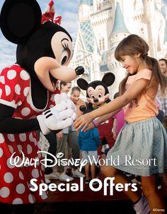 Walt Disney World Resort Special Offers! #vacation #tips #tricks