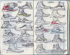 Sketching on Behance