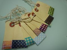 Little tags...for gifts or make my shop packaging cute!