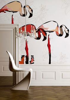 Wall & Deco Flamingo dada