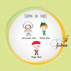 Conheça os personagens que vão estampar todos os seus produtos! Fabee Store! =)