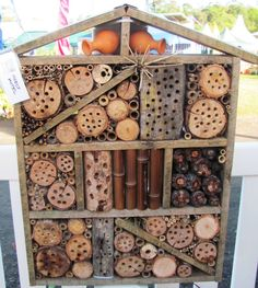 Insect Hotel for Mason Bees