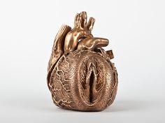 ::: Barbora Maštrlová - fine artist :::  heart vagina
