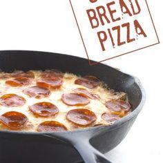 Low Carb Keto Deep Dish Pizza Recipe