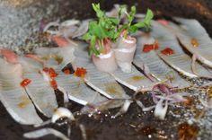 Kingfish Carpaccio with Ponzu