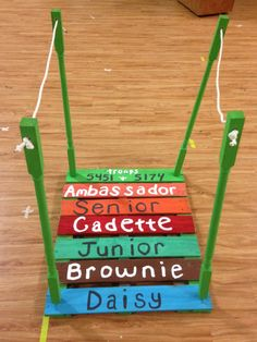 bridging ceremony | Ideas for Girl Scout Leaders, Teachers, and ...