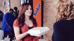 """""""It's a to-go box. You know, since you're screwing my leftovers."""" #OneTreeHill"""