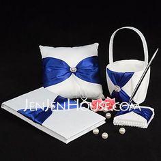 Wedding Ceremony Collection Set - $47.49 - Splendor Wedding Collection Set in Royal Blue (4 Pieces)(100017961) http://jenjenhouse.com/Wedding-Ceremony-Collection-Set-100017961-g17961 Keywords: #weddings #jevelweddingplanning Follow Us: www.jevelweddingplanning.com  www.facebook.com/jevelweddingplanning/