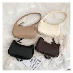 Nike Vintage, Vintage Bags, Vintage Handbags, Vintage Outfits, Trendy Handbags, Small Handbags, Purses And Handbags, Mini Handbags, Korean Bags