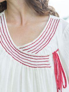 Laura Blouse | Attic Sale, Ladies Attic :Beautiful Designs by April Cornell