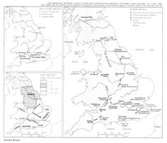 The 'heptarchy' or seven kingdoms of Anglo-Saxon England