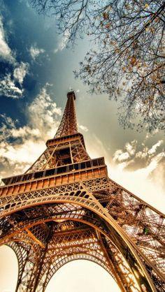 Paris Eiffel Tower http://theiphonewalls.com/paris-eiffel-tower/