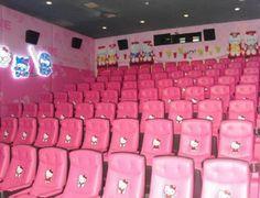 Hello Kitty movie theater