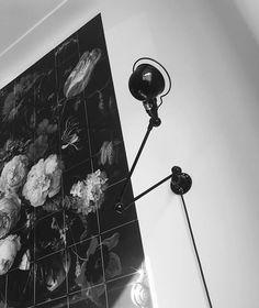 Stehlampen Loft Collecion D9406 Zig Zag Design Jieldé 6 artikuliert