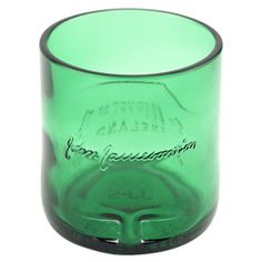Jameson Whiskey Recycled Liquor Bottle Rocks Glass - 12 oz