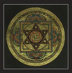 Sri Yantra Mandala Art