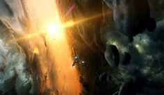 Nebula Up-close, Erik Shoemaker on ArtStation at https://www.artstation.com/artwork/nebula-up-close