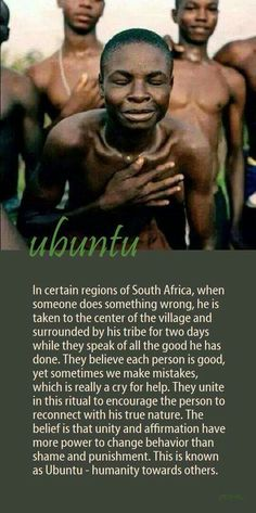 Ubuntu - I was taught this word by the  Zulus in the factory, and I understand it as 義氣