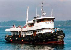 houseboat tug