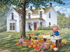 Farm Fresh JohnSloaneArt.com - John Sloane - Gallery - Autumn