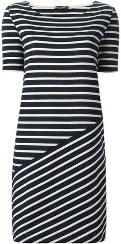 Petit Bateau striped T-shirt dress - I'm kind of liking this for bridesmaid dresses.