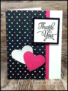 Klompen Stampers (Stampin& Up! Demonstrator Jackie Bolhuis): New Fun Sketch + 2 Cute Card Ideas Love Cards, Diy Cards, Thank You Cards, Making Greeting Cards, Greeting Cards Handmade, Envelopes, Tarjetas Diy, Thanks Card, Card Tutorials