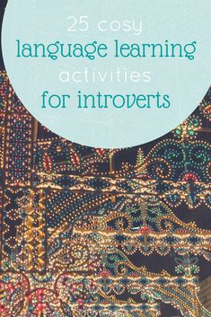 Language learning activities for introverts to indulge yourself in during the Christmas holidays. Learn a language from your sofa in your me-time. Learning To Relax, Ways Of Learning, Learning Spanish, Learning Resources, Student Learning, Learning Japanese, Spanish Lessons, Teaching Strategies, English Lessons