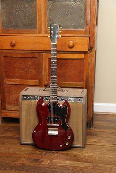 1965 Gibson SG Jr. & 1962 Fender Deluxe