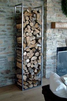 Build Firewood Holder Using Metal Stunning Software Ideas Fresh On Build Firewood Holder Using Metal View - Information About Home Interior And Interior Minimalist Room Firewood Stand, Firewood Holder, Firewood Storage, Metal Pole Barns, Metal Barn Homes, Pole Barn Homes, Metal Building Kits, Metal Building Homes, Building Ideas