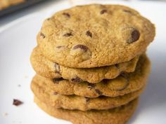 Perfect Paleo Chocolate Chip Cookies | Merit + Fork for OPL