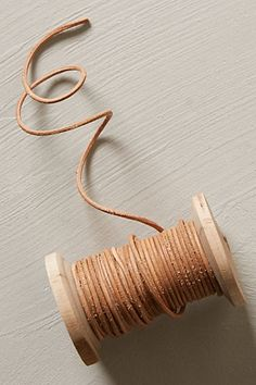 Leather Ribbon Spool