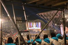 The closing ceremony at Open Air Theatre, Expo Milan 2015 #raiexpo #expo2015 #live #ceremony #milan #italy