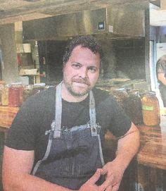 Bryce Gilmore of barley swine and odd duck