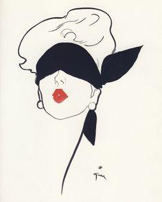 Fashion Illustrator Rene Gruau    Google Image Result for http://bertc.com/subfive/i52/images/gruau16.jpg